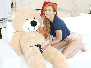 Kadence Marie Immature Spinner Caught Fucking a Teddy Bear