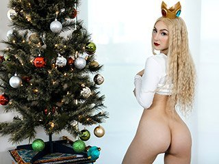 Skylar Vox Tiny Cum Soaked Christmas